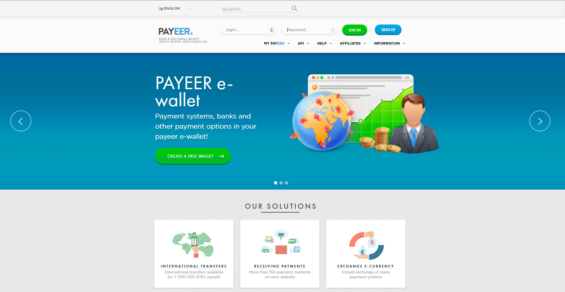 Payeer – Zahlungsanbieter