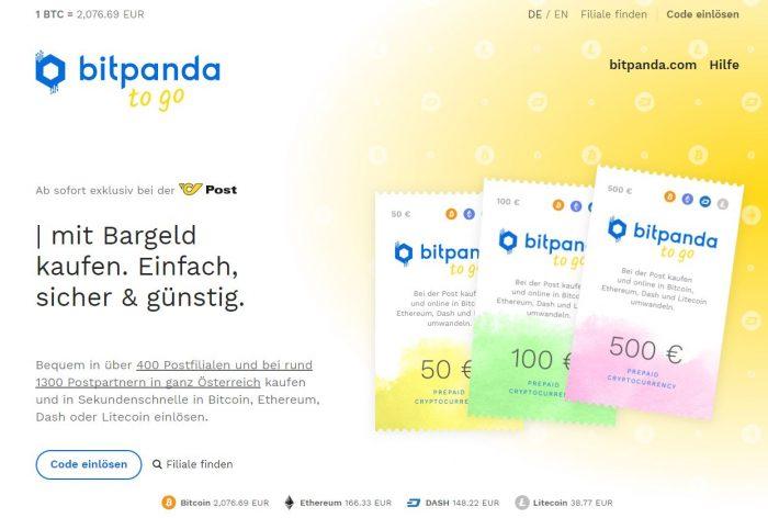 Bitcoins kann man ab sofort bei der Post kaufen