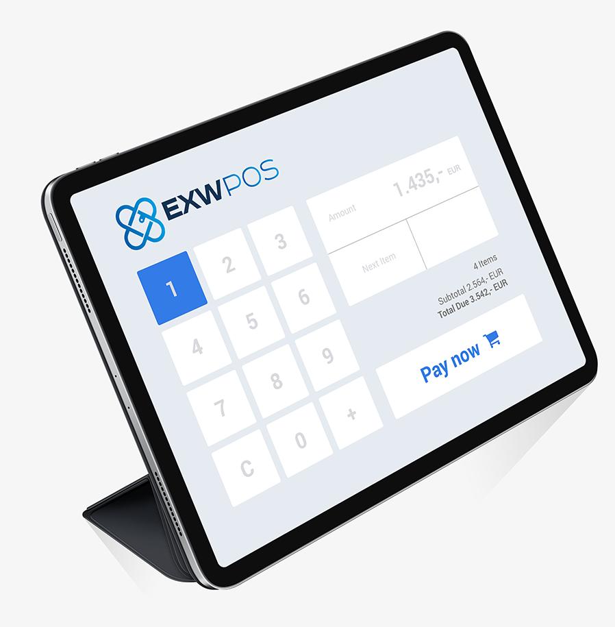 EXW PoS-System - Bezahlen mit Kryptowährungen wird durch EXW einfach möglich