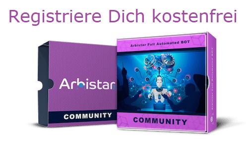 ArbiStar 2.0 Community Bot kostenlose Anmelden