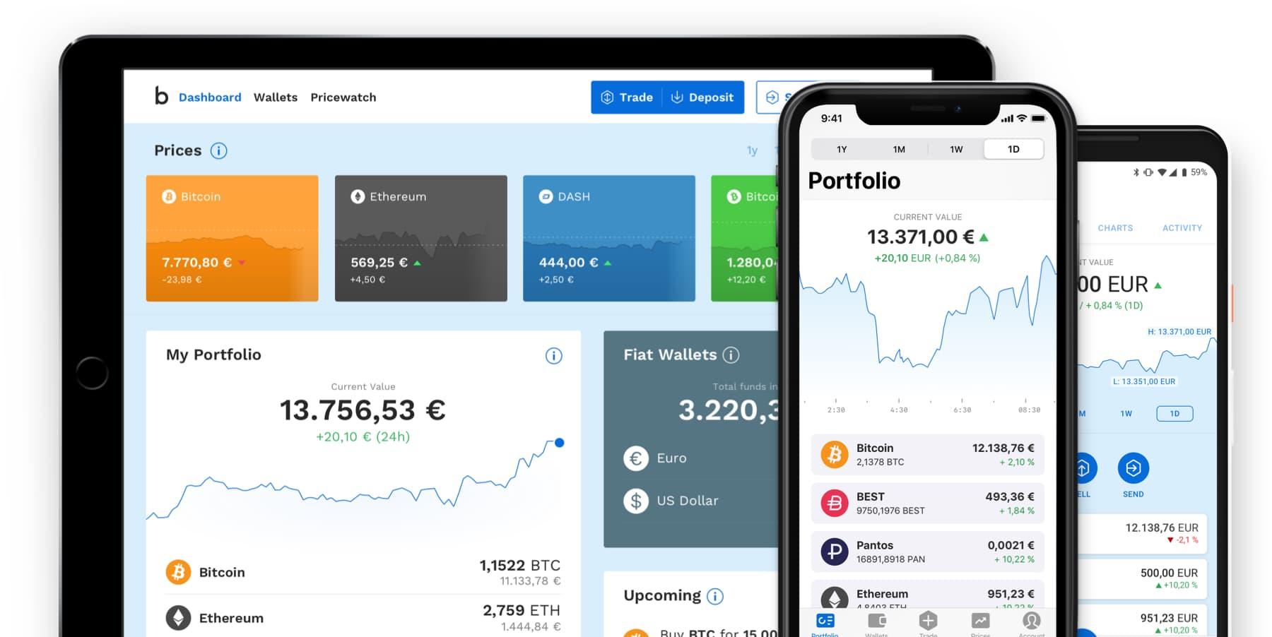 Bitpanda Zahlungsanbieter