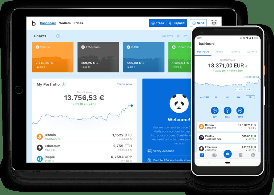 Bitpanda Zahlungsanbieter – Bitcoin eWallet